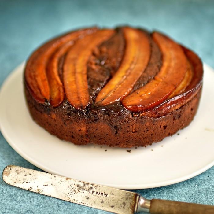 receita de bolo de banana fácil e saudável