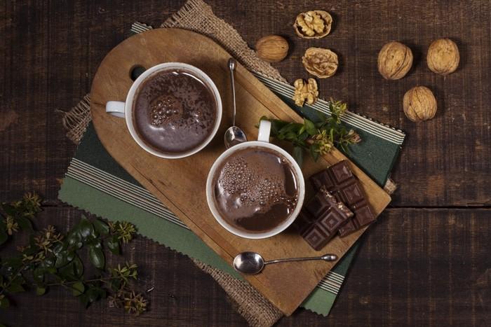 receita de chocolate quente vegano