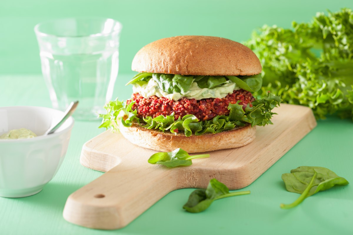 receita de hambúrguer vegetariano de amendoim