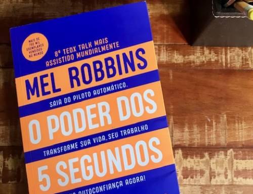 "Livro ""O Poder dos 5 Segundos"""
