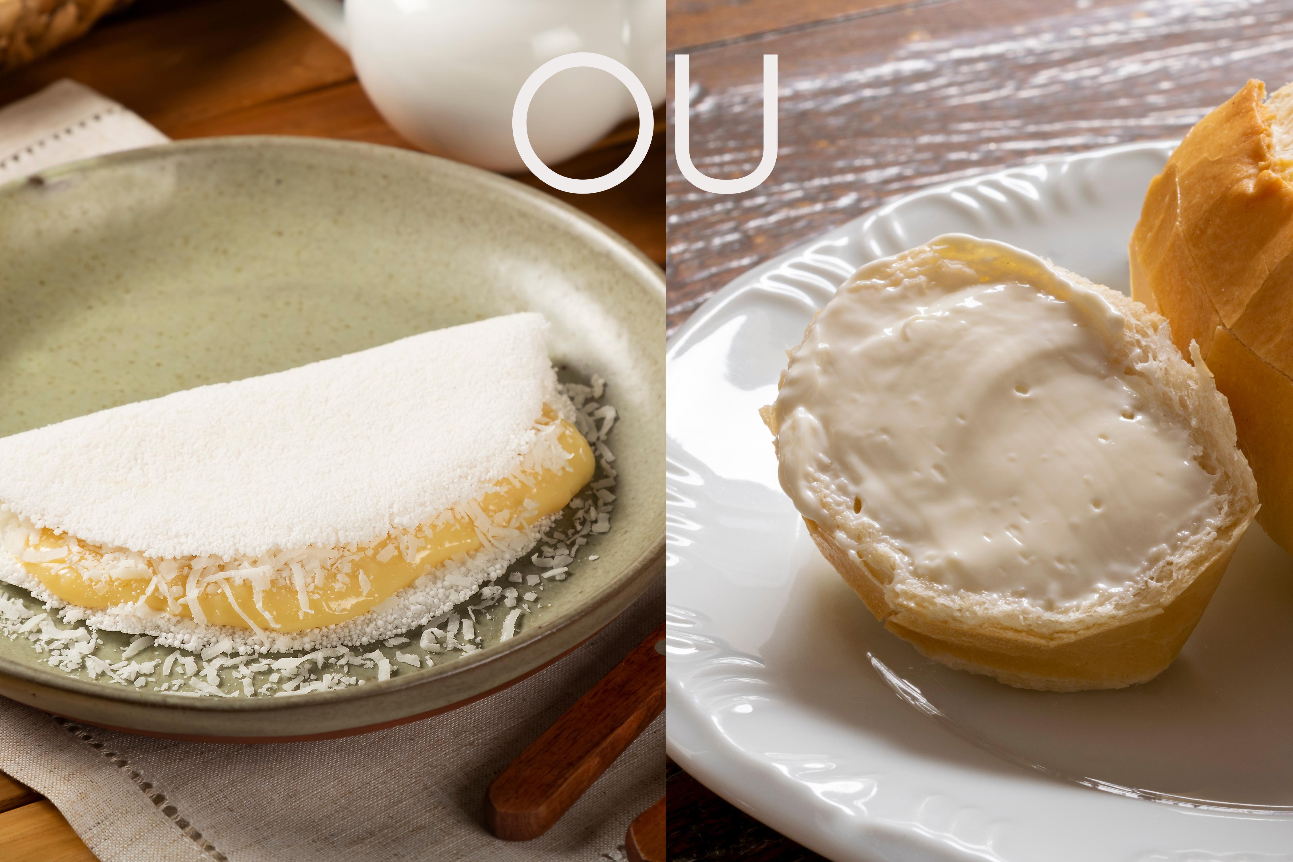 tapioca engorda mais que pão
