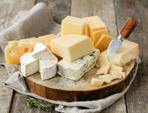 Quantidade de gordura e colesterol nos diferentes tipos de queijos