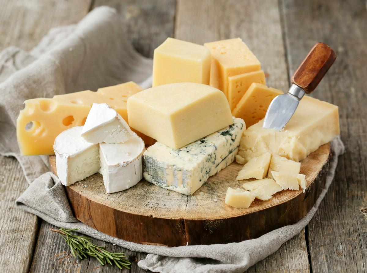 quantidade de gordura e colesterol nos queijos