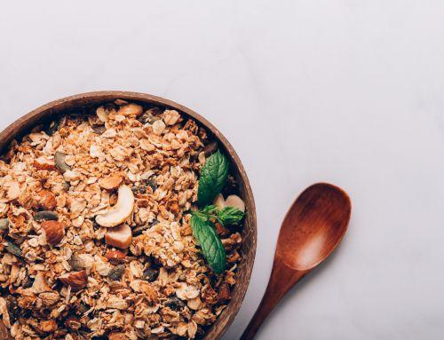 Receita de granola sem glúten